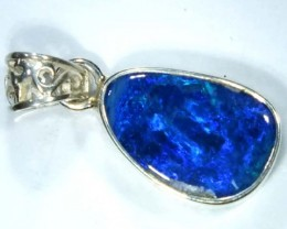 DOUBLET OPAL SILVER PENDANT 8.8  CTS   OF-477