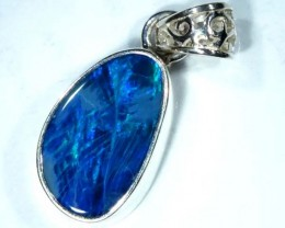DOUBLET OPAL SILVER PENDANT 8.0  CTS   OF-484