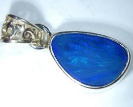 DOUBLET OPAL SILVER PENDANT 7.5  CTS   OF-489