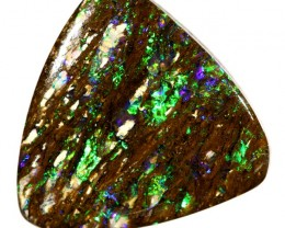 6.03 cts Boulder Opal - Winton - Wood Fossil (RB723)