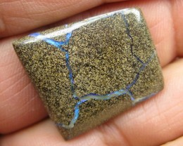 C/O.41cts,ELECTRIC VEINED BOULDER OPAL.
