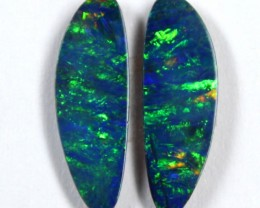 2.25 CTS  1 PAIRS OF OPAL PAIRS - PARCEL DEAL C6338