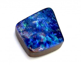 Polished .90ct Lovely Blue Solid Boulder Opal, Australia ST90