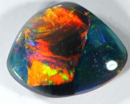 QUALITY BLACK SOLIDOPAL LIGHTNINGRIDGE 2.40  CTS JJ A-15