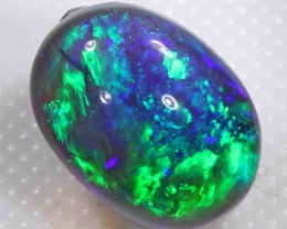 BLACK OPAL FROM LR - 4.40 CTS