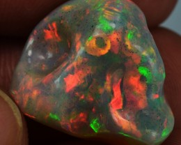 16.5ct Beautiful Flawless Unique Pattern Quality Welo Opal