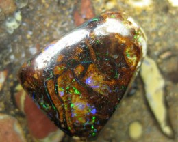 C/O.35cts,FROM OUR MINES! BOULDER MATRIX OPAL.
