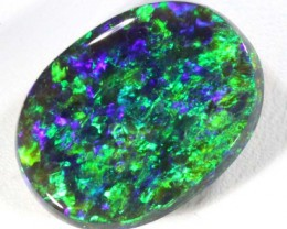 6.60 CTS QUALITY BLACK OPAL LIGHTNINGRIDGE  INV-299 GC