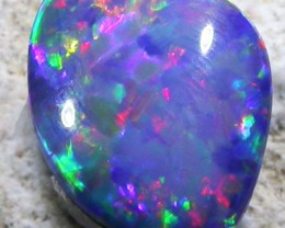 1.9 CTS OPAL SHELL FOSSIL DOUBLET  [SO3242]