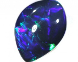 N1 INVESTMENT QUALITY BLACK OPAL LIGHTNINGRIDGE  16.6 CTS JJ-A16
