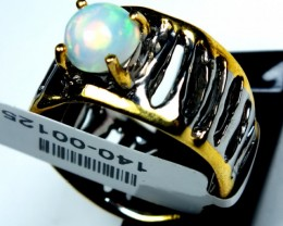 ETHIOPIAN OPAL RING STERLING SILVER 32.0 CTS    OF-589