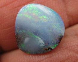 C/O 5cts,LOVELY GLOSSY BOULDER OPAL.