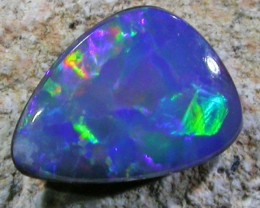 0.9 CTS OPAL SHELL FOSSIL DOUBLET  [SO3397]