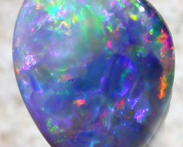 1.7 CTS OPAL SHELL FOSSIL DOUBLET  [SO3424]