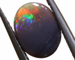 N3 - 0.80CTS BLACK OPAL POLSIHED STONE L.RIDGE TBO-1853