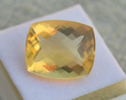 5.84 Carat Cushion Checkerboard Cut Nice Fire Opal