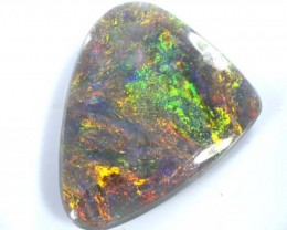 QUALITY BLACK SOLIDOPAL LIGHTNINGRIDGE  3.40  CTS JJ   SEP-9