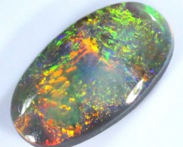 QUALITY BLACK SOLIDOPAL LIGHTNINGRIDGE  3.60  CTS   JJ   SEP-10