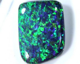 N1 QUALITY BLACK SOLIDOPAL LIGHTNINGRIDGE  7.20  CTS   JJ   SEP-22