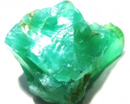 25 CTS GREEN OPAL ROUGH TANZANIA   DT-3154