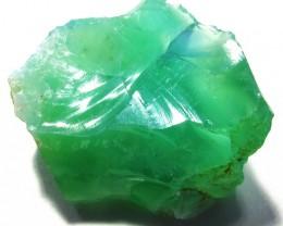 20.9 CTS  GREEN OPAL ROUGH TANZANIA    DT-3164
