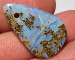 OpalWeb - Drilled Opals from Winton - 25.65Cts -