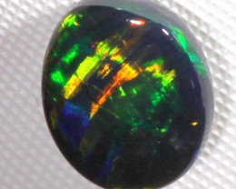 N1 QUALITY BLACK SOLIDOPAL LIGHTNINGRIDGE  1.85  CTS INV-53