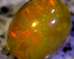 3.43Ct STUNING CHAFF FIRE Ethiopian Solid Opal