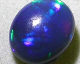 1.60 CTS QUALITY BLACK OPAL-GREAT PATTERNS -N3 [Q1000a]