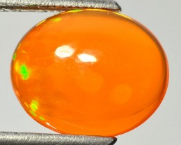5.07 Cts Natural Mexican Color Play Fire Opal - NR Auction