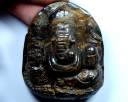 GANESH GOD OPAL CARVING 210 CTS LO-1071
