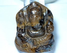 GANESH GOD OPAL CARVING 235 CTS LO-1074