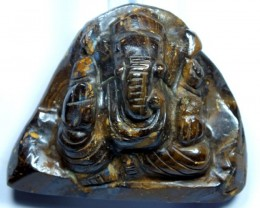 GANESH GOD OPAL CARVING  290 CTS LO-1081