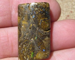 OpalWeb - Drilled Boulder Opals from Koroit - 49.3Cts -
