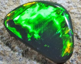 Bright Freeform Black opals PL 1257