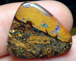 BARGAIN BUY IT NOW Boulder Opal Picture Stone AA442 16.5cts