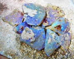 51.43 Cts Parcel rough Crystal Opals QBR 215