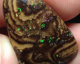 BARGAIN BUY IT NOW Boulder Opal Picture Stone AA830 25.5cts