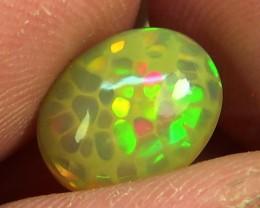 2.15 cts Ethiopian Welo HONEYCOMB opal N6 4/5