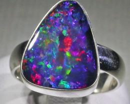 Opal Doublet Rings