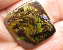 C/O 32cts,WE MINE = BOULDER MATRIX OPAL.