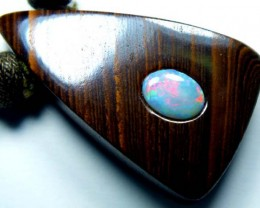 OPAL INLAY NECKLACE 63 CTS  LO-1171