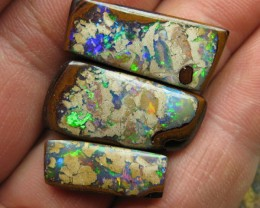 "C/O 46cts,WOW!!! SET OF ""3"" AMAZING GEM  OPALS."