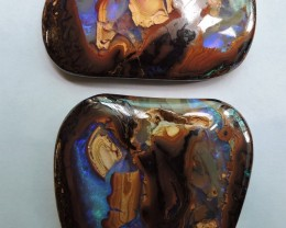 210 Cts Character  Pattern  Boulder Opal  Pl 1391
