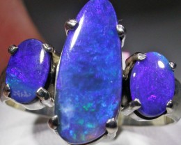 RING SIZE 9 SOLID OPAL FACTORY DIRECT [SOJ4721]SH