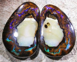 73.5 CTS YOWAH OPAL PAIR-WELL POLISHED [SO3752]
