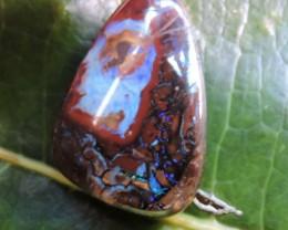 17.8CTS  Boulder Opal Hole drilled  OMR156