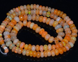 59.80 Cts Ethiopian Opal Beads Dyed - NR