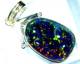 TRIPLET OPAL PENDANT SILVER 17.10  CTS OF-690