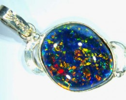 TRIPLET OPAL PENDANT SILVER 16.45  CTS OF-699